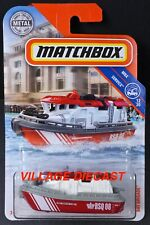 2019 Matchbox #94 Bay Brigade™ RED / WHITE / GREY / MBX RESCUE FLEET / MOC