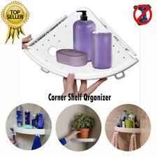 Corner Storage Holder Shelves Snap Up Wall Holder Bathroom Handy mounting 40%OF