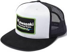 Factory Effex Kawasaki Racing Snapback Hat-White/Black - Mens
