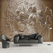 Wallpaper Murals 3d Embossed Wall Decor Home Living Room Bedroom Wallpapers Roll