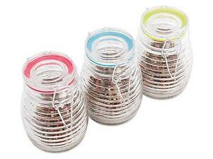 Einmachglas Glas 300 ml Vorratsglas Einmachgläser Weckgläser Bügelverschluß 6679