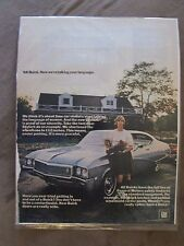 Buick Skylark 1968 Paper ad Now You're Talking Our Language