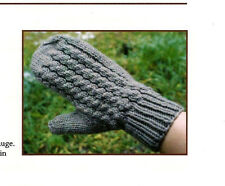 SAVE 50%  CABLED MITTENS to KNIT by JANET SZABO BIG SKY KNITTING DESIGN