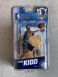 RARE Jason Kidd NBA McFarlane Series 8 Chase Variant New Jersey Nets