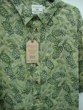 Camicie casual e maglie da uomo verde con colletto regolare
