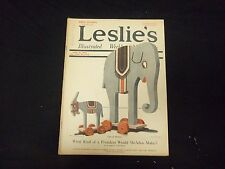 1920 JUNE 19 LESLIE'S WEEKLY MAGAZINE - COCA COLA AD BACK COVER - ST 2290