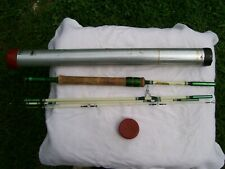 antique shakespeare fishing rod no 1459 modelf bh. clean in rolled case