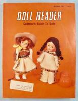 Doll Reader Vintage Collectors Magazine November 1982 Ginny Cowgirl Vogue (O)