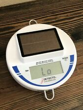30 lb Solar Powered Hanging Scale Digital Detecto Scs30 Commercial Bulk