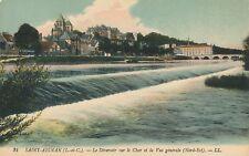 SAINT-AIGNAN – Le Deversoir sure le Cher et la Vue Generale Nord-Est – France