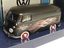 1/24 Moteur Max vw t1 Camionnette Hot Rod Noir Mat 79567