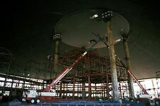 1974 DISNEY WORLD CONSTRUCTION PHOTO Space Mountain Interior - Early Track Const