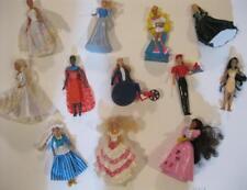 "POLLY POCKET 5"" Mini BARBIE Doll McDonalds 1990s DOTW Becky Bride Holiday Disney"