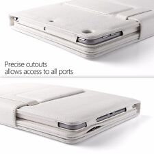 For New iPad 9.7 2017 / iPad Air Poetic KeyBook Series Spill-proof Case White