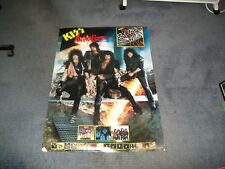Kiss-Animalise Polygram Record Company Poster