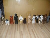 Vintage Star Wars action figures First 12 Complete original weapons No repros