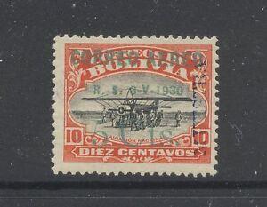 Bolivia   C11   mint   specimen  overprint  stamp   signed    MS0531