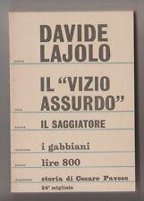 Il vizio assurdo - D. Lajolo 1967
