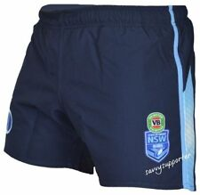 South Wales Blues State of Origin 2017 Players on Field Shorts Size S-4xl Small/16