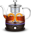Water Boiler Electric Kettle Teapot Tea Maker with Stainless Steel Infuser 1L photo