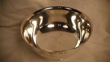 Manchester Silver Co.  Sterling Silver Pedestal Bowl Golf Trophy