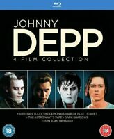 Johnny Depp Collection (4 Films) Blu-Ray (1000579580)