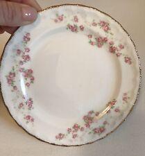 "Pope Gosser Florence Rose Pattern Bread & Butter Plate 6"""
