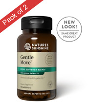 Natures Sunshine Gentle Move (90 Caps) Pack of 2