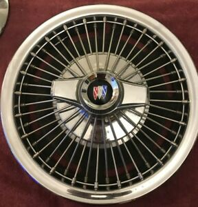"""1965 1966 1967 BUICK SPECIAL 14"""" WIRE SPINNER HUBCAP WHEEL COVER 1010, 01364273"""