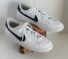 Nike Mens Tennis Classic CS White/Midnight Navy Sneakers (683613 107)~ Sz. 8.5US