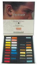 SENNELIER 40 portrait doux demi Pastel Box Set. artistes professionnels pastels