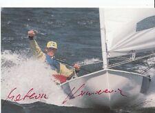 Mateusz Kusnierewicz TOP AK Original Signiert Segeln +A33145