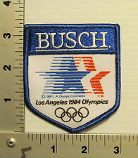 BUSCH 1984 LA OLYMPICS VINTAGE PATCH EMBROIDERED BEER PATCHES