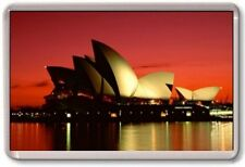 FRIDGE MAGNET - SYDNEY OPERA HOUSE - Large Jumbo - Australia Sunset