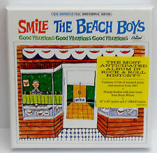 The Beach Boys SMiLE Sessions 2 CDs / Booklet / Poster - NEW & SEALED