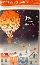 Hallmark Christmas Cards wEnvelopes Joy Is In The Air Hope It Comes Your Way 6PK