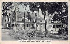A36/ Mount Dora Florida Fl Postcard c1930 The Grand View Hotel Building