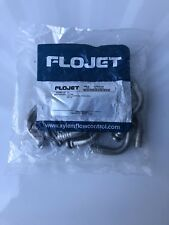 "Flojet 20608100 Genuine Steel Hose Barb 3/8"" Liquid Port Elbow 12Pack NEW"