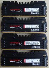 Kingston 16 GB (4 Stück je 4GB) PC3-14900 DDR3-1866 DDR3 SDRAM 1866 Mhz