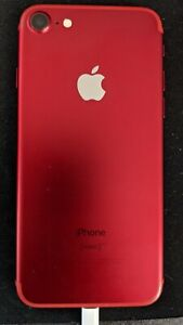 RED iPhone 7 Factory UNLOCKED 128 GB SEE DESCRIPTION