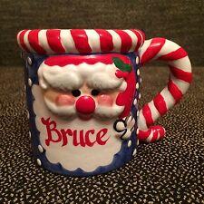 Ceramic Christmas Santa Claus Coffee Mug - BRUCE