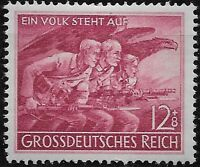 Germany Third Reich Mi# 908 MNH Mobilizatiom of Home Guard 1945 **