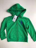 BNWT Authentic Ralph Lauren Boys Designer Hoodie/jumper 2T(18-24 Mths)