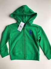 BNWT Authentic Ralph Lauren Boys Hoodie/jumper US 2T(18-24 Mths)