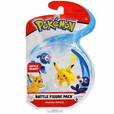 Pokemon Series 1 Battle Figure Pikachu & Popplio Mini Figure 2 Pack