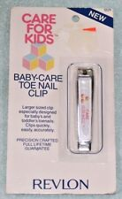 New Baby Care Toe Nail Clip Revlon Care For Kids New Old Stock