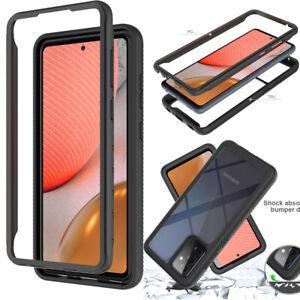 For Samsung Galaxy A12/A22/A32/A42/A52/A72 5G Body Full Body Clear Hard Case