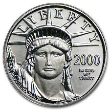 2000 1/10 oz Platinum American Eagle Coin - Brilliant Uncirculated - SKU #7457