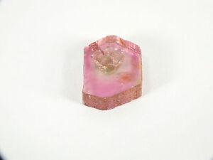 Rubellite Tourmaline Crystal Polished Slice (EA6596) Madagascar Mineral Gem