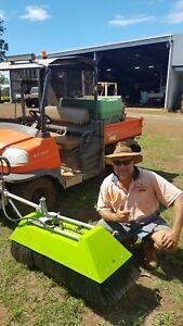 SPRAY BOOM ATV HOODED MACADAMIA NUT CITRUS ORCHARD CHEMICAL OZ MADE SILVAN JETS.